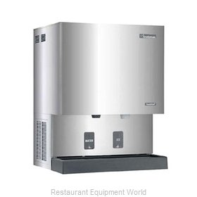 Scotsman MDT6N90A-1 TouchFree Air-Cooled Flake Ice Maker and Dispenser