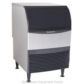 Scotsman UN324A-6 Ice Maker with Bin, Nugget-Style