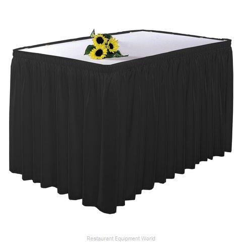 Snap Drape Brands 5412GC29S3W2014 Table Skirt