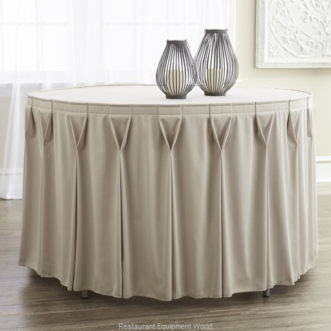 Snap Drape Brands 5412GC29W0V1 Table Skirt (Magnified)