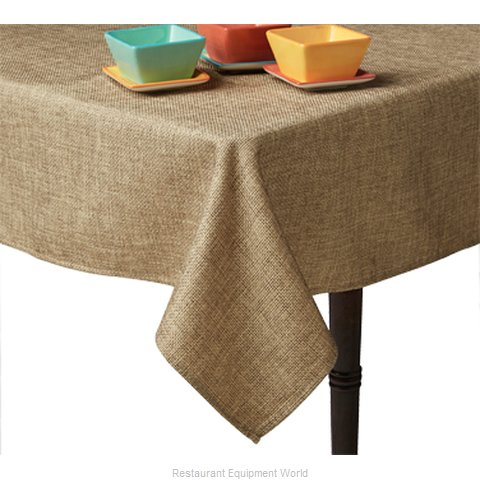 Snap Drape Brands 542952AUTH807 Table Cloth, Linen