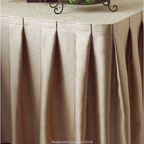 Snap Drape Brands 5432EG29B0V1 Table Skirt