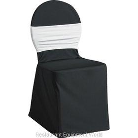Snap Drape Brands SILCHC-BK Chair Cover