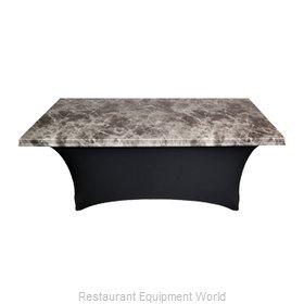 Snap Drape Brands UN30RMAR-BLK Table Top Cover / Cap, Hard Top