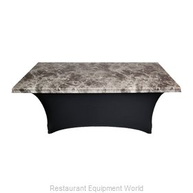 Snap Drape Brands UN60SERPMAR-BLK Table Top Cover / Cap, Hard Top