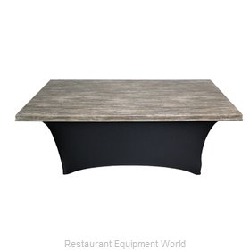 Snap Drape Brands UN60SERPTRV Table Top Cover / Cap, Hard Top