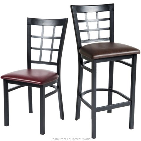 Selected Furniture 165BS-BLACK Bar Stool