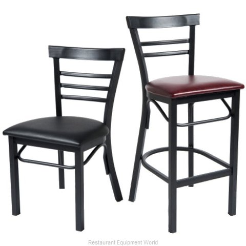 Selected Furniture 166BS-BLACK Bar Stool (Magnified)