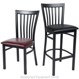 Selected Furniture 168BS-BLACK Bar Stool