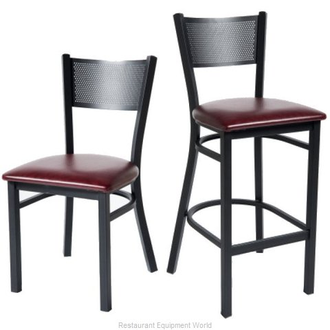 Selected Furniture 170BS-BLACK Bar Stool