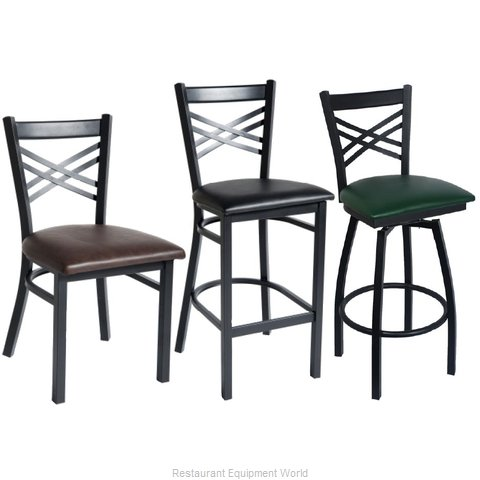 Selected Furniture 212-BS-BLACK Bar Stool