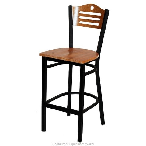 Selected Furniture 315BS-F-WOOD Wood-back Bar Stool
