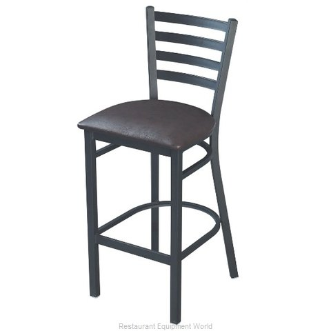 Selected Furniture 316-BS-DARKMAHOGANY Bar Stool