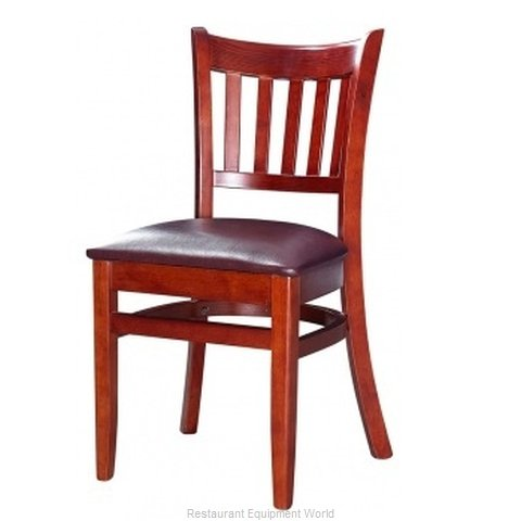 Selected Furniture 3545-WL-WINE Wood-frame Chair