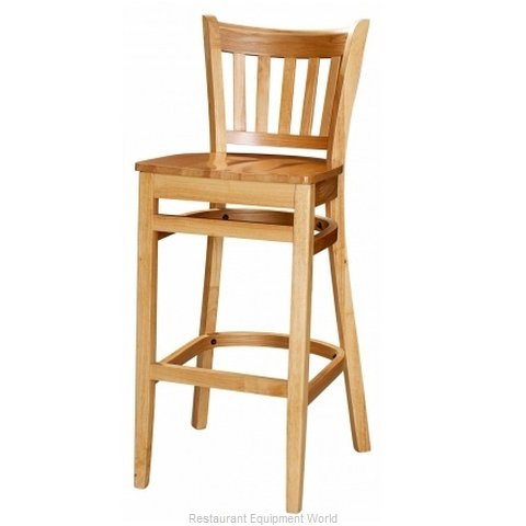 Selected Furniture 3545BS-NA-WINE Wood-frame Bar Stool