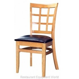 Selected Furniture 4080-NA-WINE Wood-frame Chair