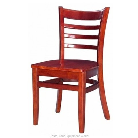 Selected Furniture 5050-MAHOGANY Chair