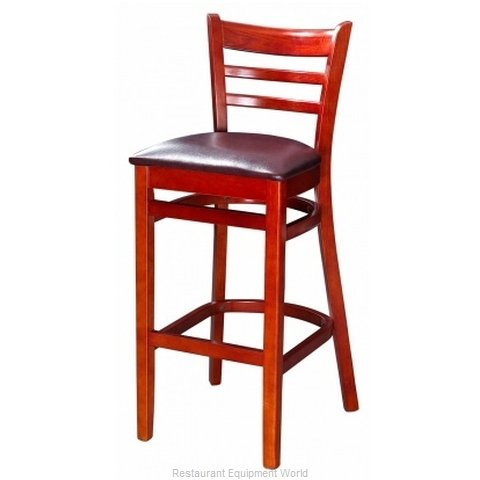 Selected Furniture 5050BS-MAHOGANY Bar Stool