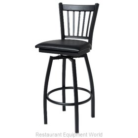 Selected Furniture 800-309V-BUCKSKIN Swivel Bar Stool