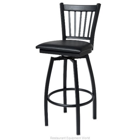 Selected Furniture 800-309V-CHERRY Swivel Bar Stool