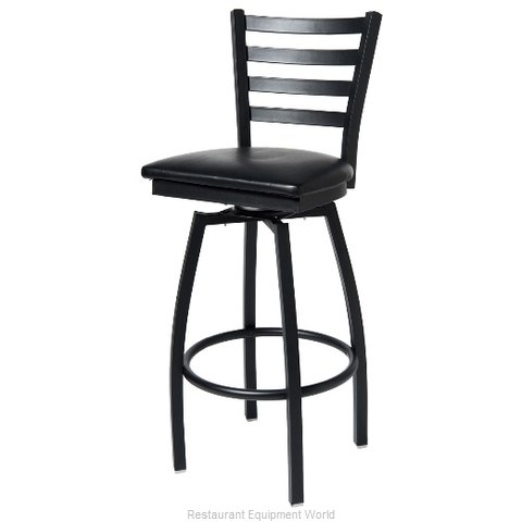 Selected Furniture 800-316V-BUCKSKIN Swivel Bar Stool