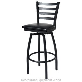 Selected Furniture 800-316V-CHERRY Swivel Bar Stool