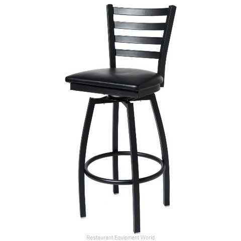 Selected Furniture 800-316V-WINE Swivel Bar Stool (Magnified)