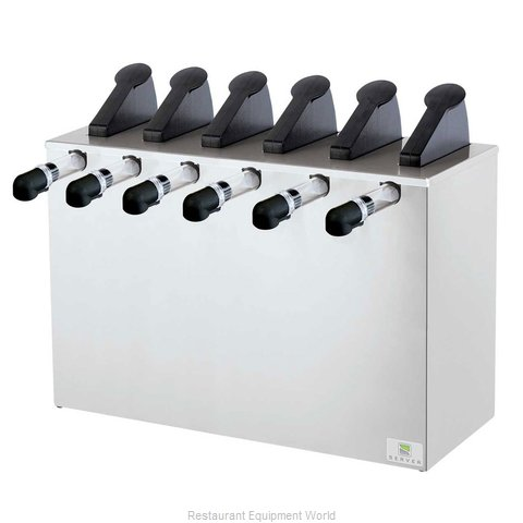 Server Products 07540 Topping Dispenser, Ambient