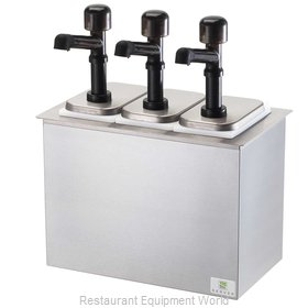 Server Products 79820 Condiment Dispenser, Pump-Style