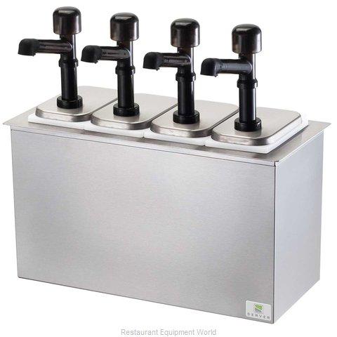 Server Products 79840 Condiment Dispenser, Pump-Style