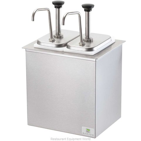 Server Products 79950 Topping Dispenser, Ambient