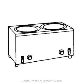 Server Products 80360 Food Pan Warmer/Rethermalizer, Countertop
