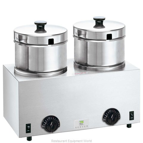Server Products 81200 Food Pan Warmer/Rethermalizer, Countertop