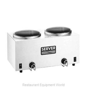 Server Products 81210 Food Topping Warmer, Countertop