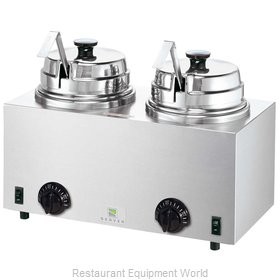 Server Products 81220 Food Topping Warmer, Countertop