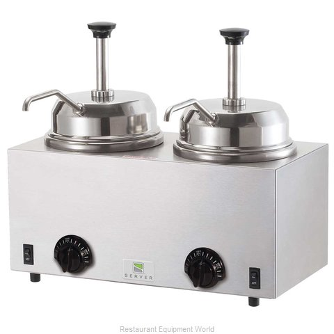 Server Products 81230 Food Topping Warmer, Countertop