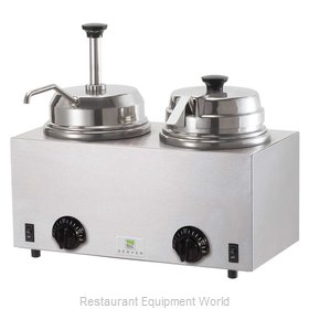 Server Products 81290 Food Topping Warmer, Countertop