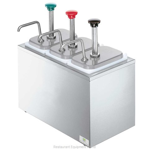 Server Products 82870 Topping Dispenser, Ambient