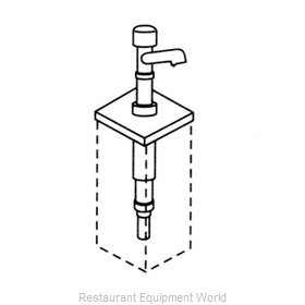 Server Products 83410 Condiment Syrup Pump Only