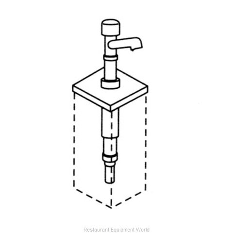 Server Products 83460 Condiment Syrup Pump Only
