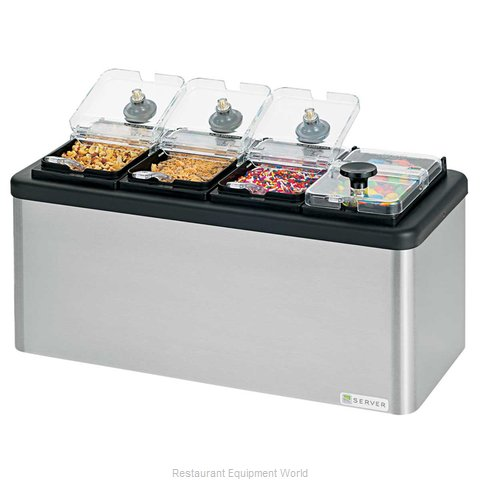 Server Products 87480 Topping Dispenser, Ambient