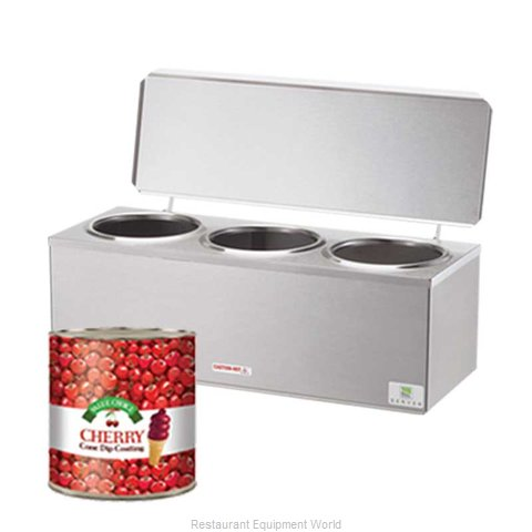 Server Products 92040 Food Topping Warmer, Countertop