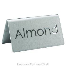 Service Ideas 1C-BF-ALMOND-MOD Beverage Sign