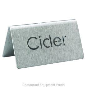 Service Ideas 1C-BF-CIDER-MOD Beverage Sign