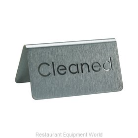 Service Ideas 1C-BF-CLEANED-MOD Tabletop Sign, Tent / Card