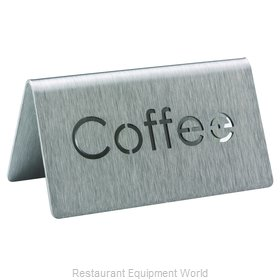 Service Ideas 1C-BF-COFFEE-MOD Beverage Sign