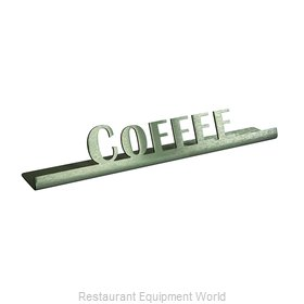 Service Ideas 1C-BF-COFFEE-SIGN Tabletop Sign, Tent / Card