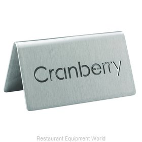 Service Ideas 1C-BF-CRANBERRY-MOD Beverage Sign