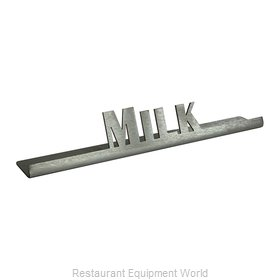 Service Ideas 1C-BF-MILK-SIGN Tabletop Sign, Tent / Card