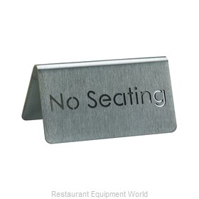 Service Ideas 1C-BF-NOSEATING-MOD Tabletop Sign, Tent / Card